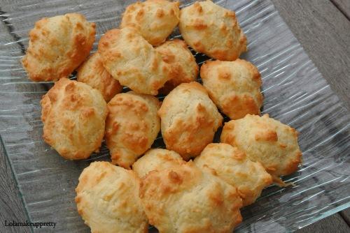 madeleine au fromage